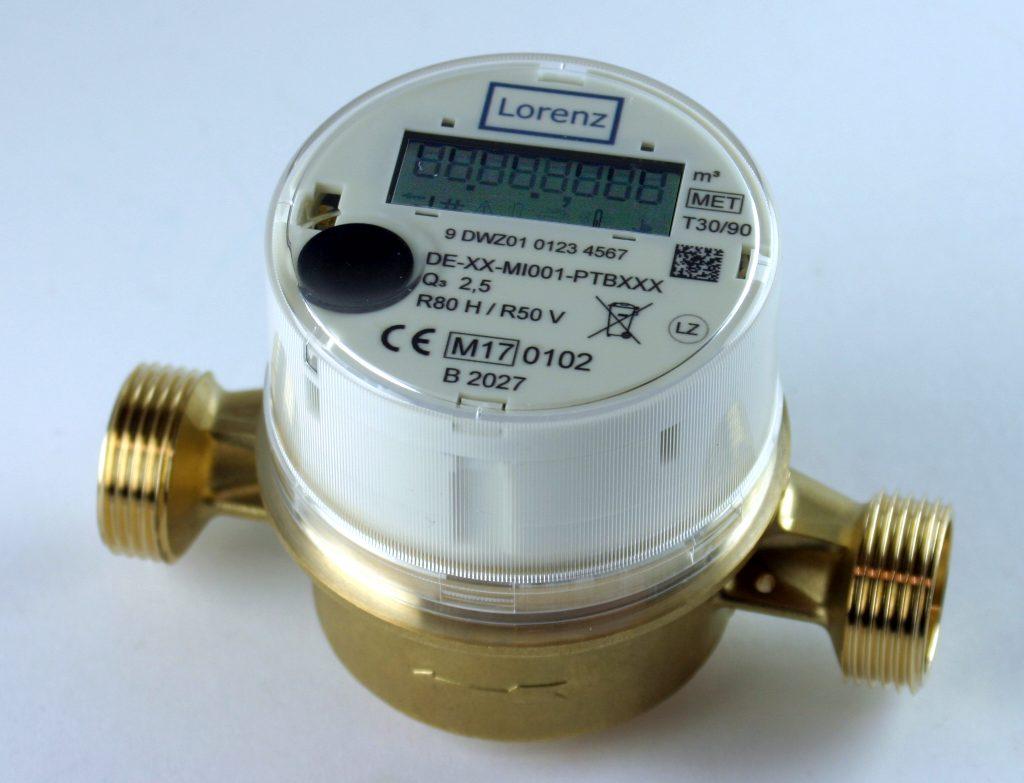 Die neue Generation von Lorenz-Wasserzählern kann als digitaler Smart Meter dienen.