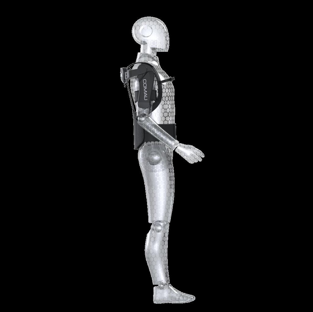 3D-Modell vom Exoskelett Mate des Herstellers Comau