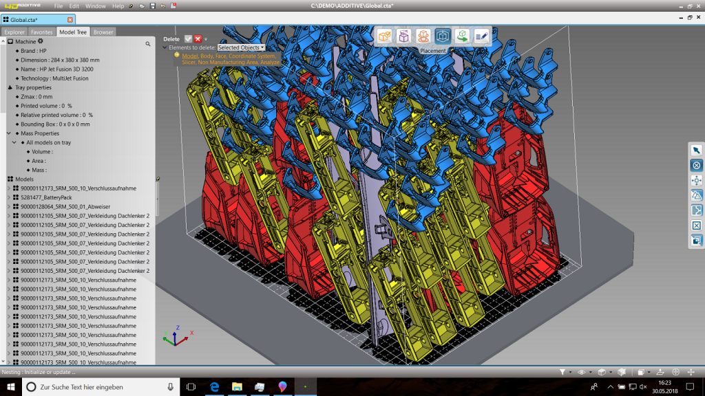 Mit der 4D-Additive sind CAD-Modelle als B-Rep Geometrie durch robuste Direct Modelling-Funktionen bearbeitbar. (Bild: CT CoreTechnologie GmbH)