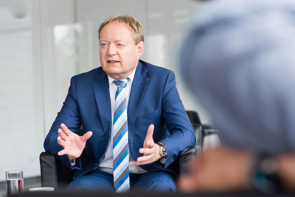 Burkhard Röhrig, Geschäftsführer beim MES-Hersteller GFOS mbH