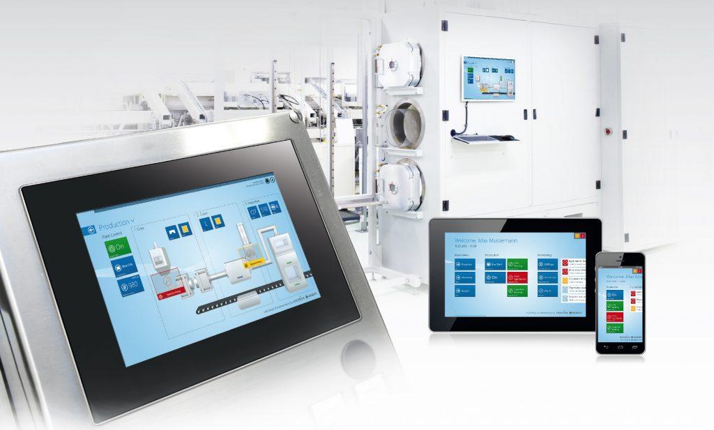 Visiwin unterstützt verschiedene User Interfaces - und mit diesen auch Web-Anwendungen und Gestensteuerung.