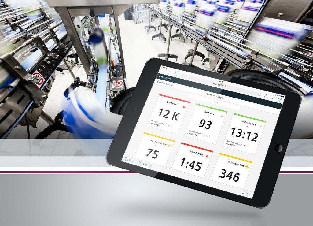 Cloudbasierte Anwendungen wie die Mindapp Performance Insight helfen beim Vergleich und der Analyse von Betriebskennzahlen selbst über Standorte hinweg. (Bild: Siemens AG)