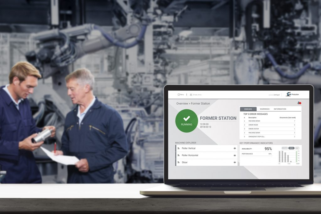 I4_Station Optimizer - IIoT-Software setzt auf Standards