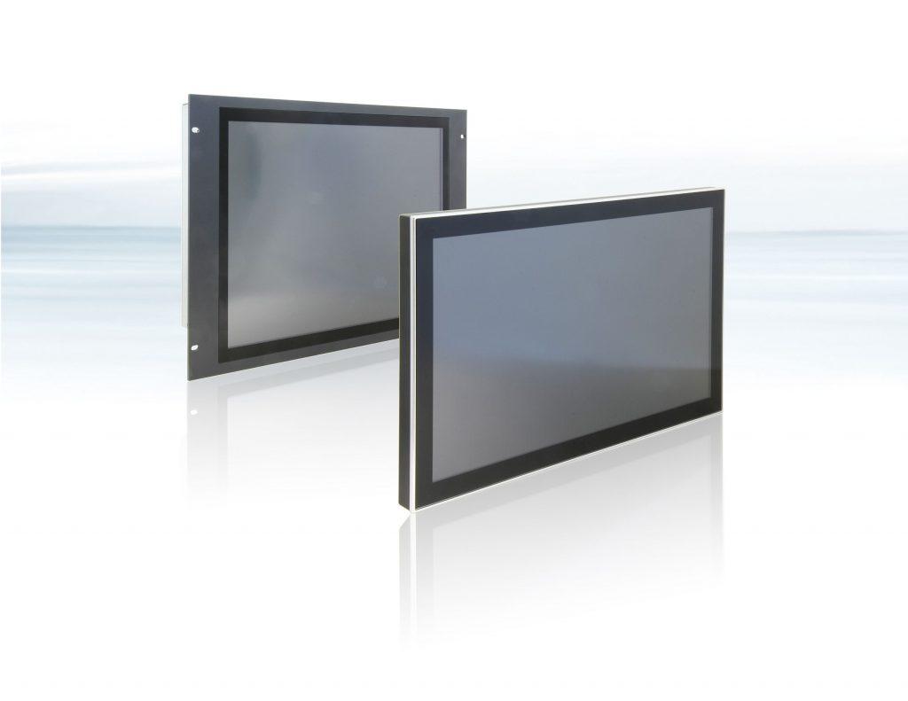 Die Displays sind sowohl im 16:9 Breitformat als auch im 4:3 und 5:4 Standardformat mit Displaygrößen von 10,4