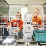 Industrie 4.0-Modellfabrik im Silicon Saxony