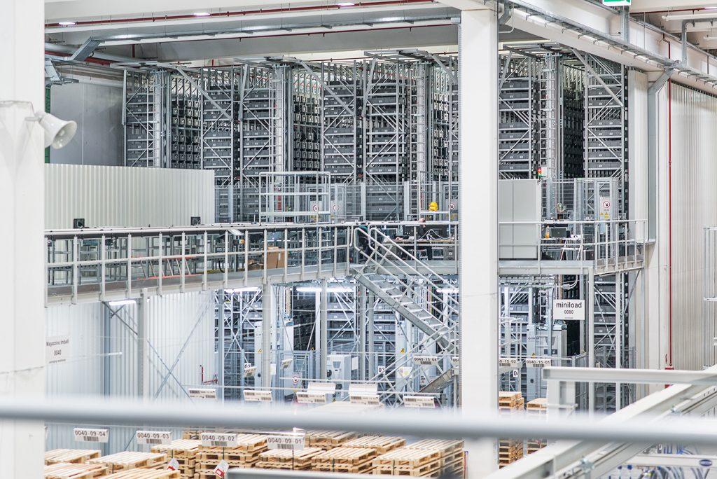 Lagerverwaltung bei Schaeffler Technologies - Doppelpack füreffiziente Distribution
