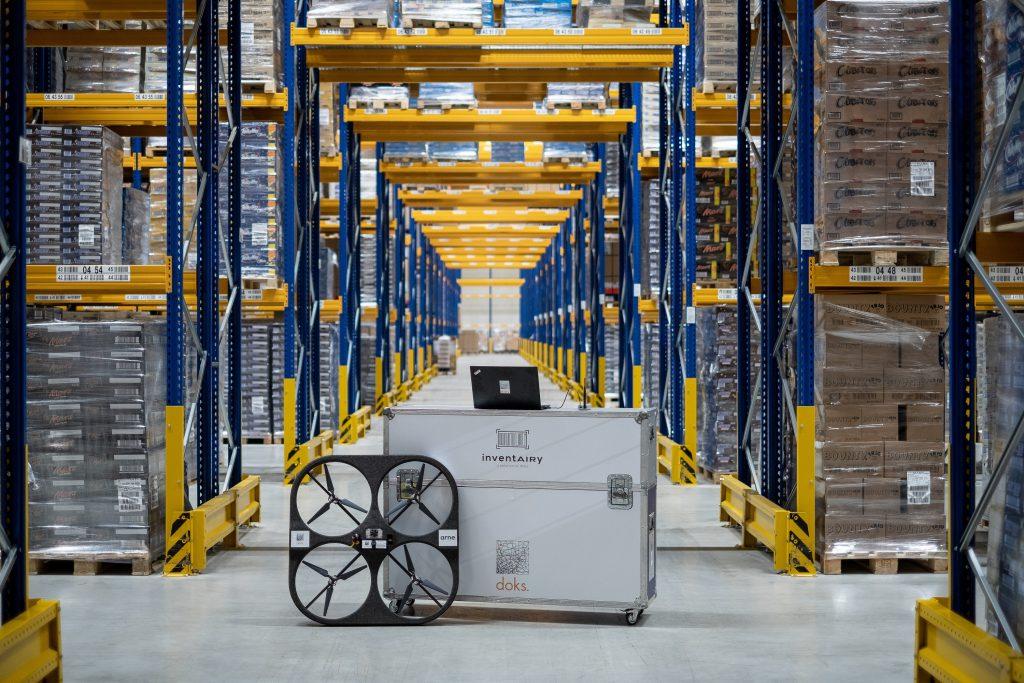 Einer der Pilotkunden der Dronen-Lösung ist die Rigterink Logistikgruppe mit Sitz in Nordhorn. (Bild: Doks.innovation GmbH)