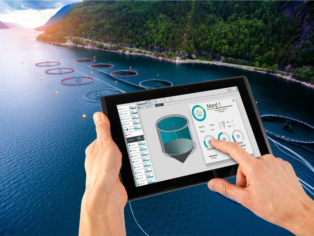 HMI- und Scada-Lösung - Digitale Fischzucht in Norwegen