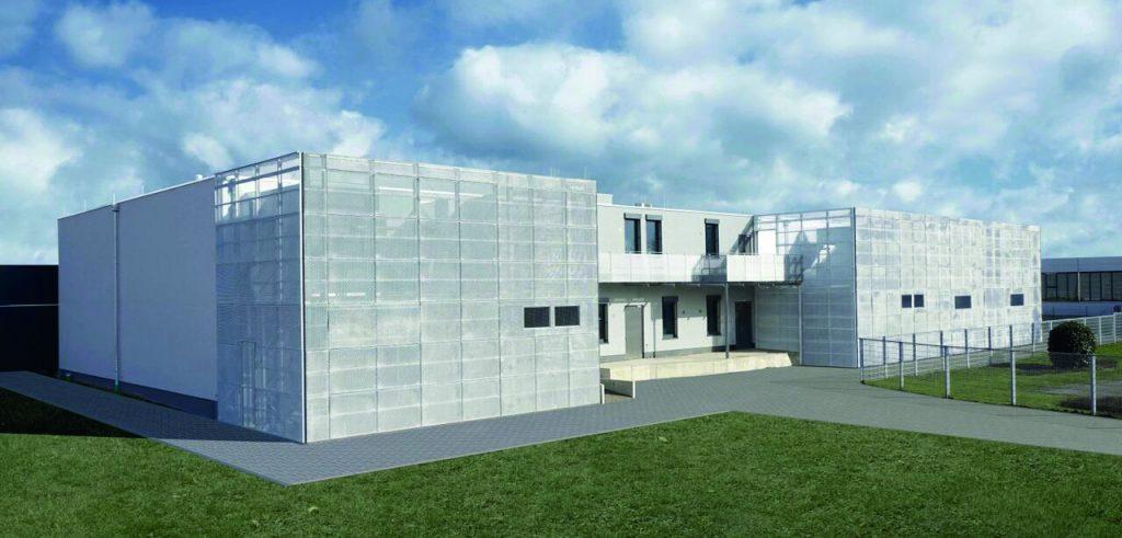 Das Rechenzentrum LEV-1 wurde in sechs Monaten errichtet.
