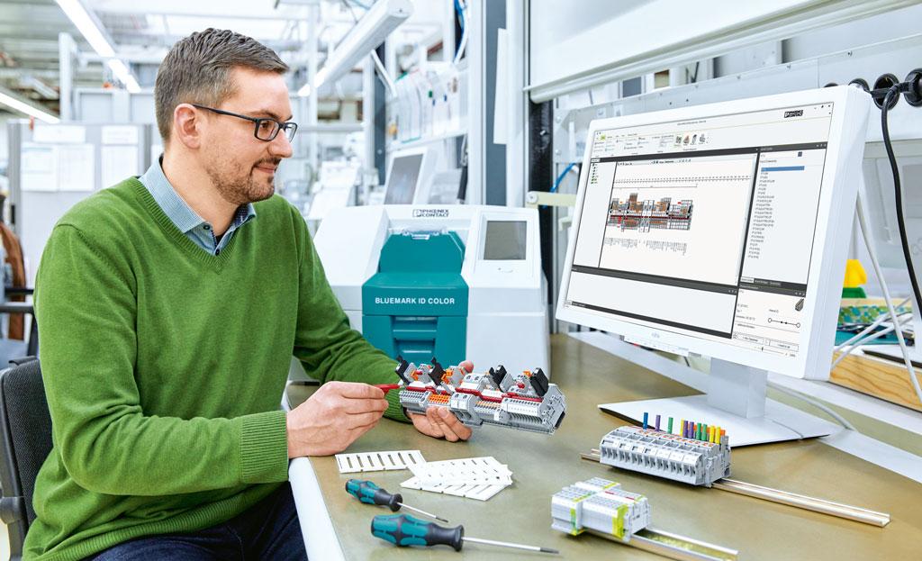 Schaltschrankbau: CAE-Software hilft bei Klemmenleisten-Projektierung