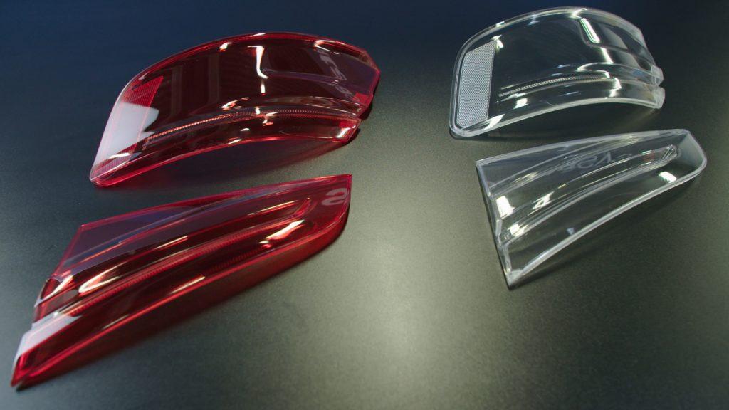 In der Prototypenherstellung von Deckgläsern für Rückleuchten wird Audi die Vorlaufzeiten um bis zu 50% reduzieren können. (Bild: Stratasys GmbH)