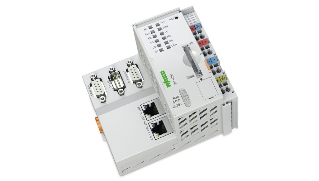 Nach einem Upgrade ist die neueste PFC-Generation standardisiert IoT-ready. (Bild: WAGO Kontakttechnik GmbH & Co. KG)