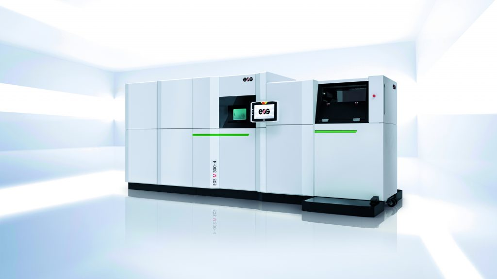 Der M 300-4 ist mit dem sogenannten Shared-Modules-Konzept von EOS kompatibel. (Bild: EOS GmbH Electro Optical Systems)