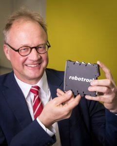 Robotron-Geschäftsführer Ulf Heinemann: