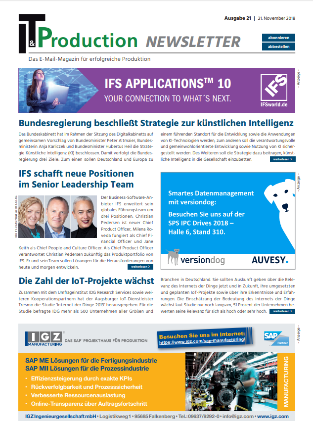 ITProduction_Newsletter_XXI 2018