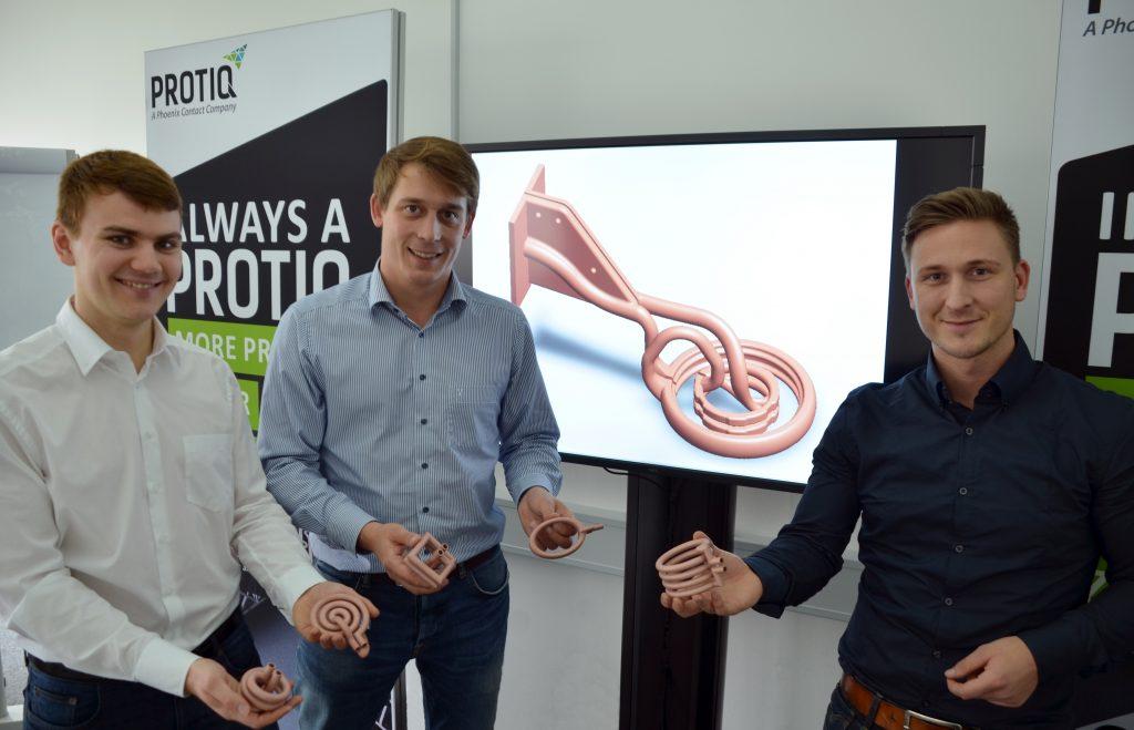 Simulationsbasierte Optimierung: Das Protiq-Team bietet ebenfalls die Möglichkeit, magnetfeldoptimierte Induktoren zu entwickeln. (Bild: Phoenix Contact Deutschland GmbH)
