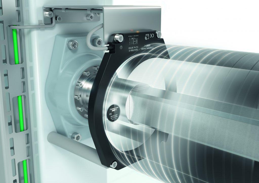 Der am Spulenkörper angebrachte Transponder kann an jeder beliebigen Position innerhalb des ringförmigen Lesekopfes identifiziert werden. (Bild: Pepperl+Fuchs Vertrieb Deutschland GmbH)