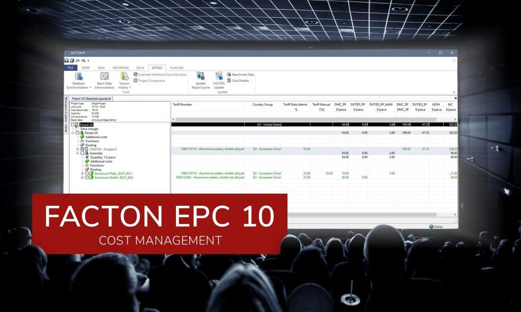 Facton richtete starkes Augenmerk darauf, in der neuen Programmversion die Performance zu verbessern. (Bild: Facton GmbH)