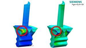 Ein neues Siemens-Tool berechnet den Verzug beim Metalldruck. (Bild: Siemens Industry Software GmbH)