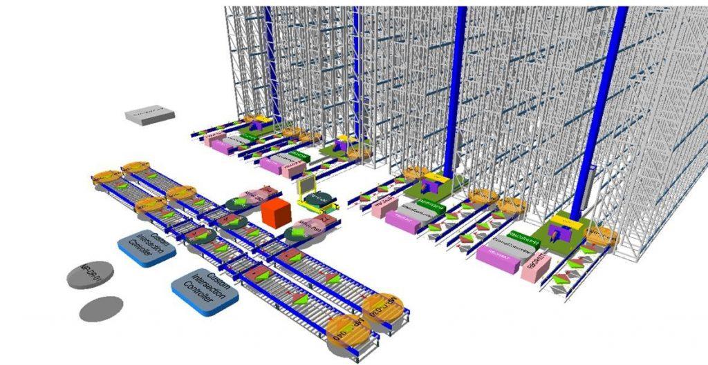 Emulate3D eignet sich für Simulationsaufgaben entlang eines Anlagenbauprojektes. (Bild: Simplan AG)