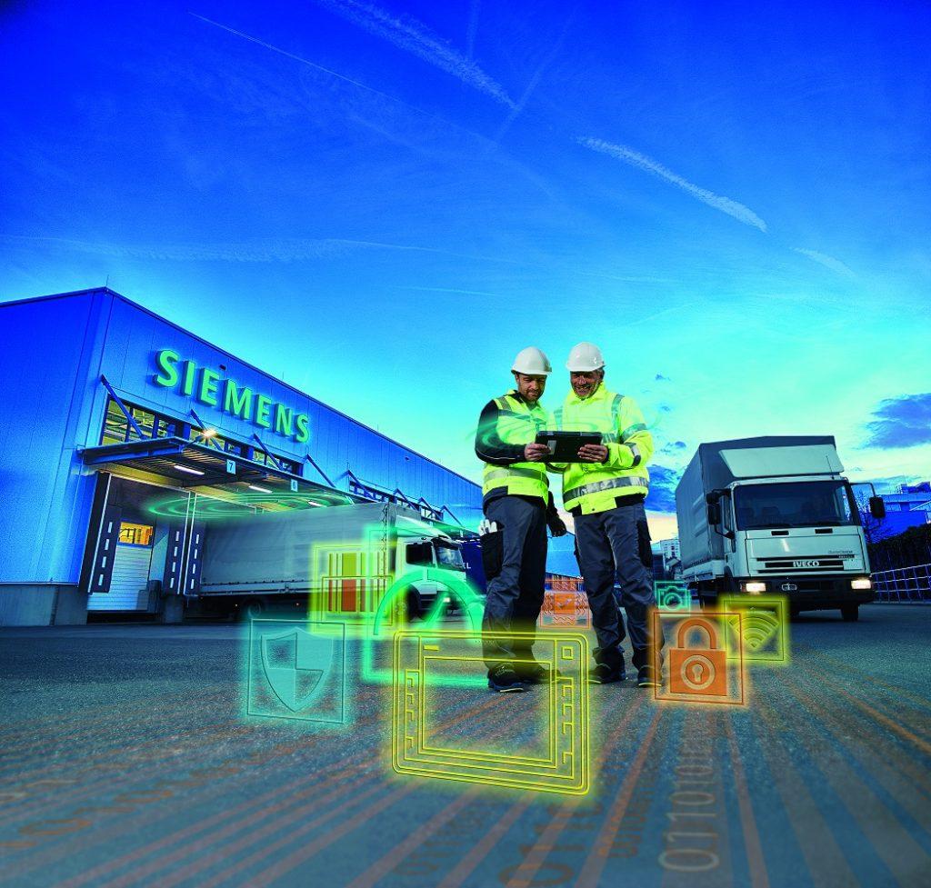 Durchgängige digitale Lösungen vereinfachen auch Instandhaltung und Service – etwa, indem über einen QR-Code Komponenten- und Wartungsinformationen aus dem Scada-System auf einem mobilen Gerät abgerufen werden. (Bild: Siemens AG)