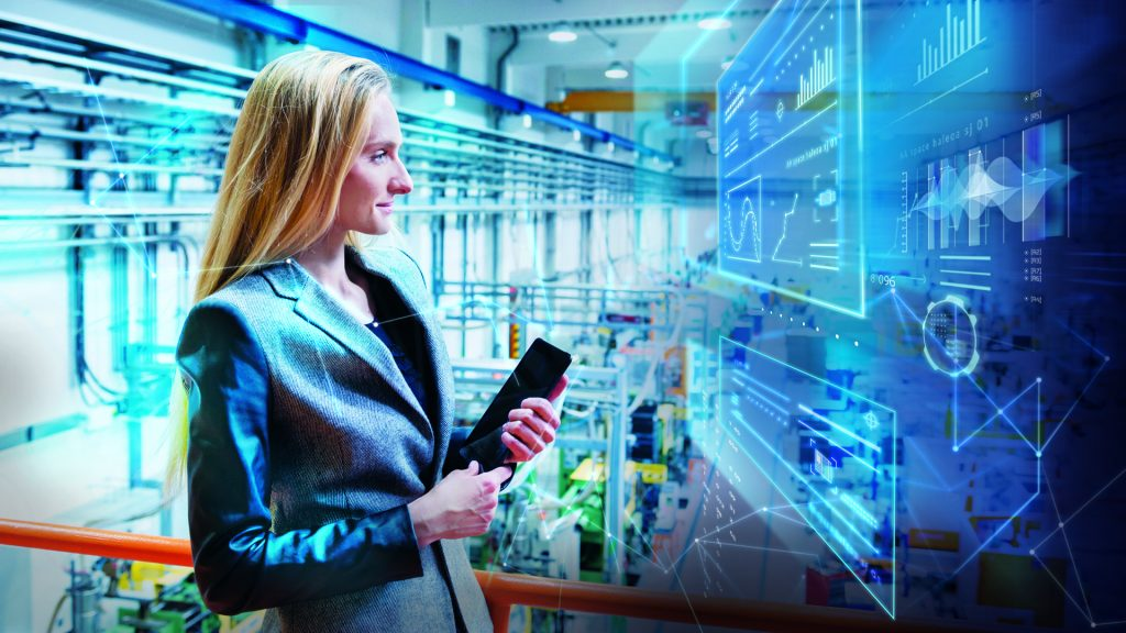 Durch die sinnvolle Verknüpfung und Aufbereitung von Daten – auch für mobile Endgeräte – erhalten Mitarbeiter und Management eine solide Grundlage für die Entscheidungsfindung. (Bild: Siemens AG)