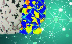 Mit dem Datenraumkonzept Werkstoffinformationen jeglicher Art in digitale Netze integrieren - eine wichtige Basis für die Produktion im Rahmen der Industrie 4.0. (Bild: Fraunhofer IWM)