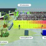 Kamera-Infrastruktur trackt Transporter und Waren