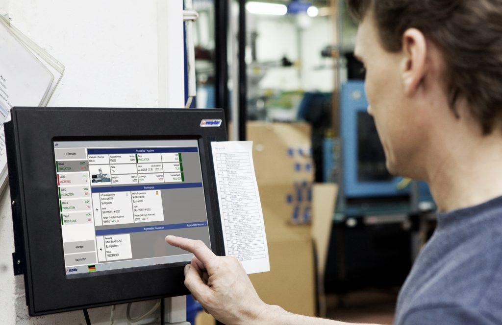 Unmittelbare Rückmeldung der vorhergesagten Qualität an den Werker (Bild: MPDV Mikrolab GmbH)