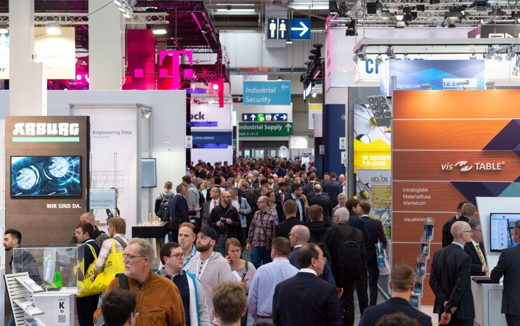 Bei der diesjährigen Hannover Messe können sich Fachbesucher bei mehr als 6.500 Unternehmen über aktuelle Produkte informieren. (Bild: Deutsche Messe AG)