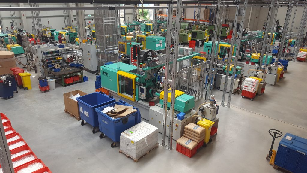 Produktionshalle (Bilder: Rekuplast GmbH)