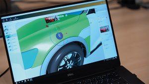 Erstellen der virtuellen Informationen über sogenannte 'Pins' am CAD-Modell. (Bild: Viscopic GmbH)