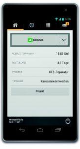 Die mobile Zeiterfassung entwickelt sich in vielen Branchen zum Standard. (Bild: Reiner SCT)