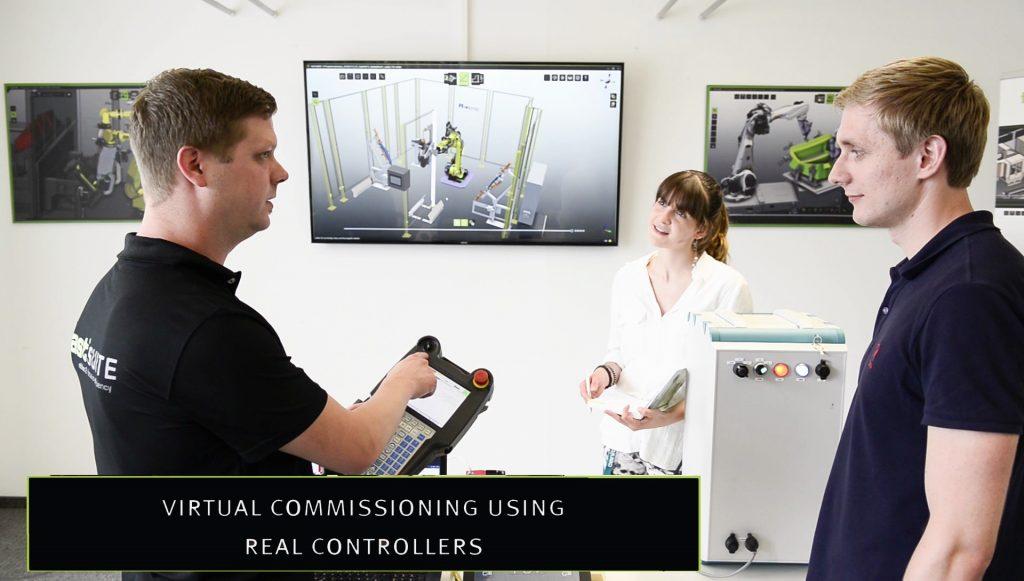 Roboter-Teachen und Virtuelle Inbetriebnahme (Bild: Cenit AG)