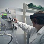 Augmented Reality-Erfahrung als Werkerführung
