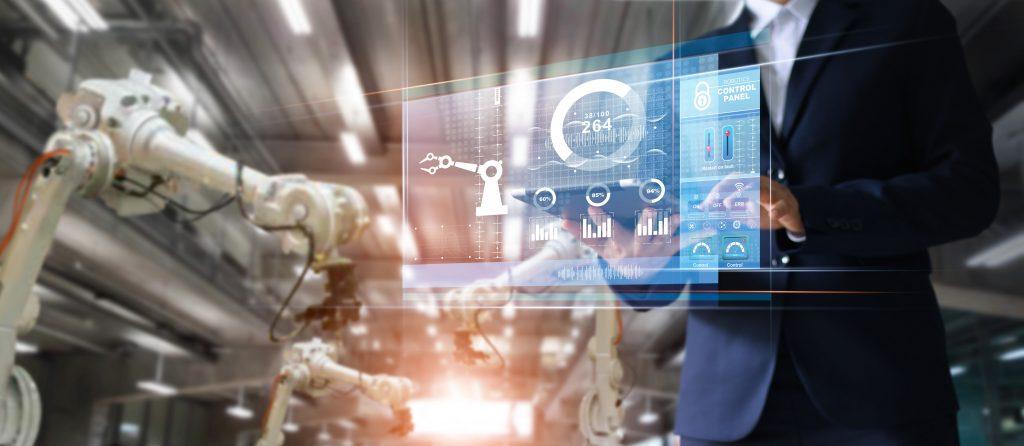Als Daten- und Informationsdrehscheibe sorgt ein leistungsstarkes MES mit seinen Digitalisierungs - fähigkeiten im IIOT für Transparent, höhere Qualität und durchgängige Dokumentation in der Fertigung. (Bild: Industrie Informatik GmbH)