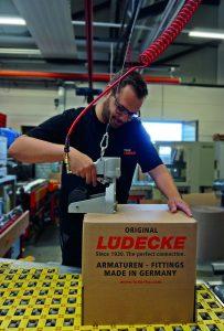 Die reibungslosen Abläufe innerhalb des neuen Systems sorgten für einen Sprung bei der Liefertreue von 85 auf 94 Prozent. (Bild: Lüdecke GmbH)