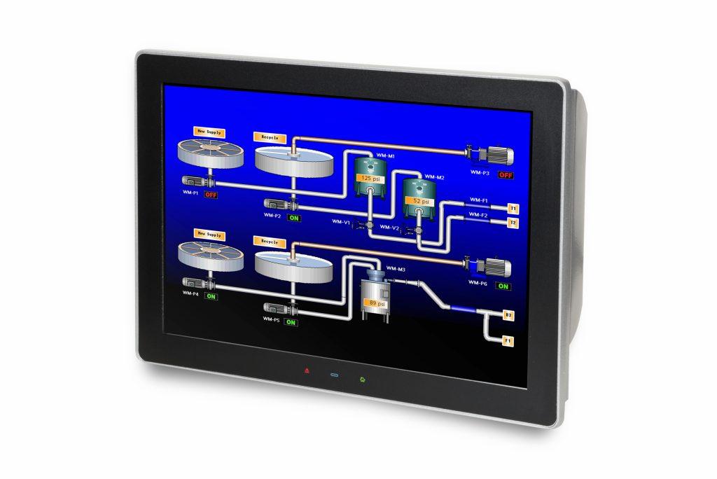 Graphite-HMIs sind in acht verschiedenen Modellen in Größen von 7 bis 15 erhältlich. (Bild: Red Lion Controls)