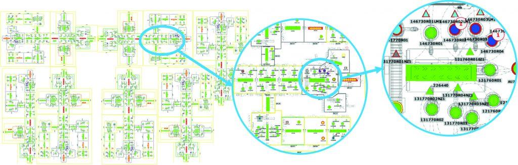 Beispielhafte Umfänge und Detailgrade in der Prozesssoftware (Bild: Coman Software GmbH)