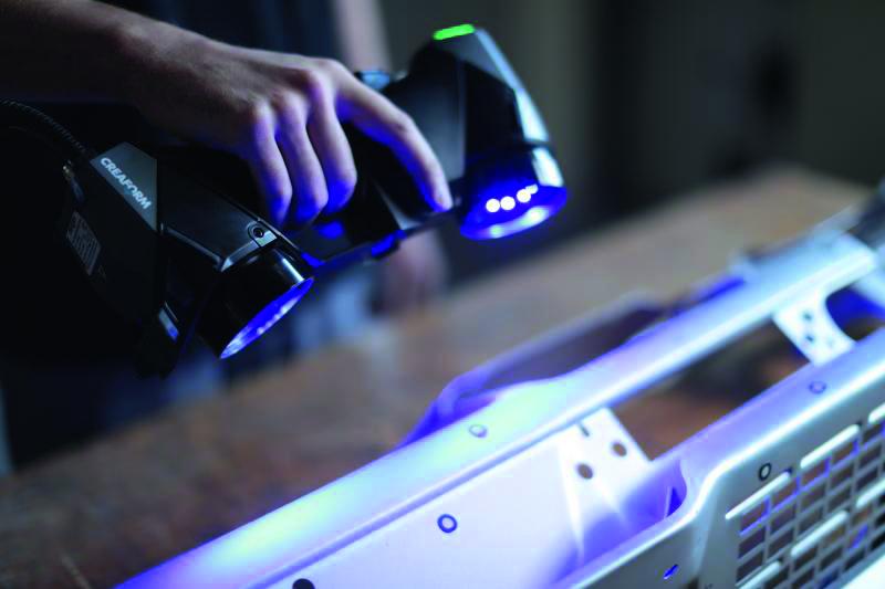 Die Werkzeuge dienen der Abnahme von exakten Maßen von physischen Objekten. (Bild: AMETEK GmbH Division Creaform)