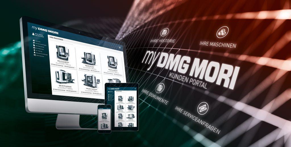 DMG Mori zeigt auf der Emo das neue digitale Kundenportal my DMG Mori. (Bild: DMG Mori Global Marketing GmbH)