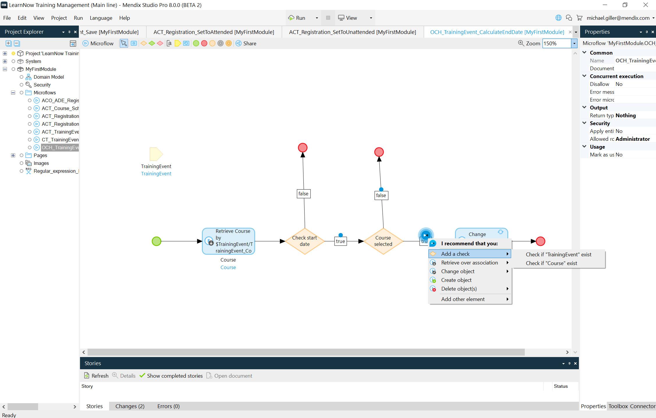 Die Drag&Drop-Oberfläche von Mendix Studio ermöglicht, Werte aus statischen Datenbeständen wie Excel-Tabellen zu generieren. (Bild: Mendix Technology B.V.)
