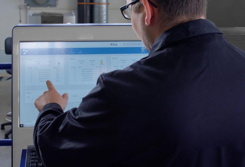 Das Eckelmann-System ist als plattformunabhängige Web-Service-Architektur umgesetzt. (Bild: Eckelmann AG)