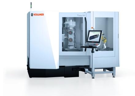 Schleifmaschine VGrind 360 für Hartmetallwerkzeuge (Bild: Vollmer Werke Maschinenfabrik GmbH)