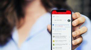 Im integrierten Produktkatalog können Anwender mobil Produkte und Dienstleistungen anschauen und zeigen. (Bild: CAS Software AG)