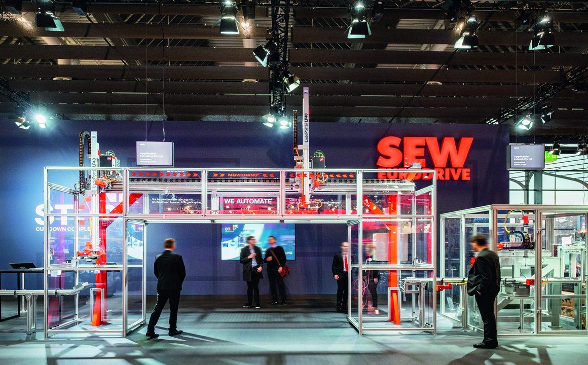 Im Geschäftsfeld Maxolution Maschinenautomatisierung liefert SEW-Eurodrive u.a. Systemlösungen für Handling-Portale. (Bild: SEW Eurodrive GmbH & Co KG)