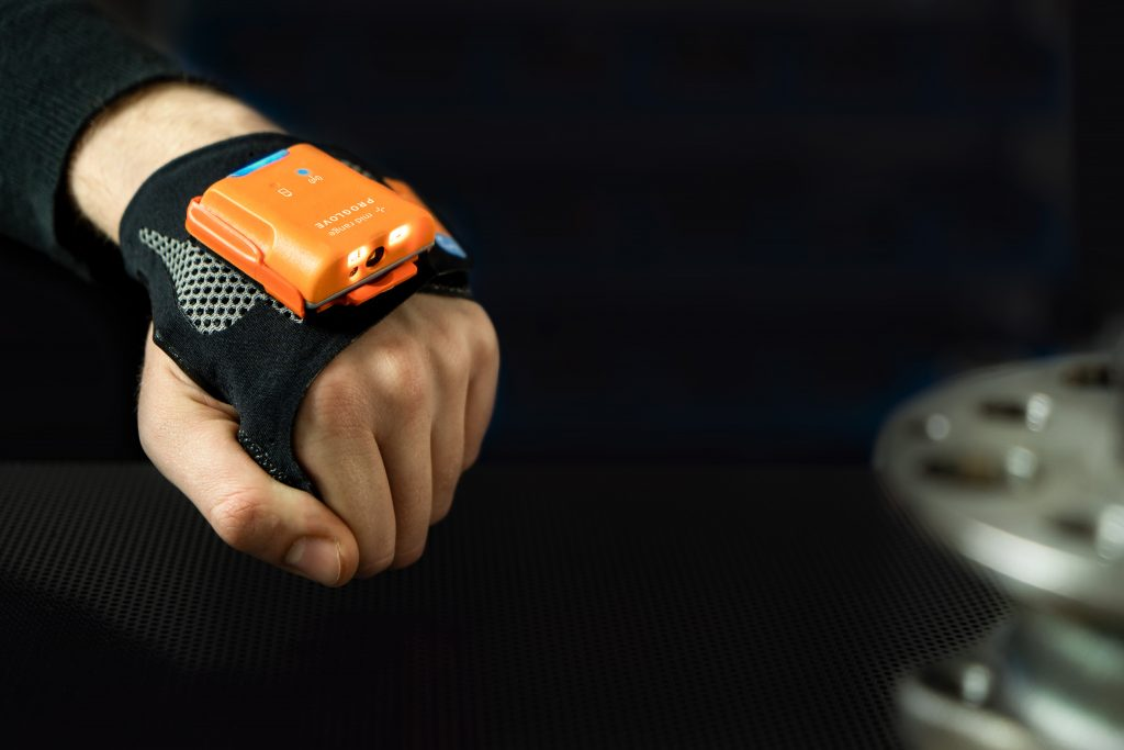 Die Scanner schaffen je nach Modell bis zu 6000 Scans pro Batterieladung. (Bild: ProGlove GmbH)
