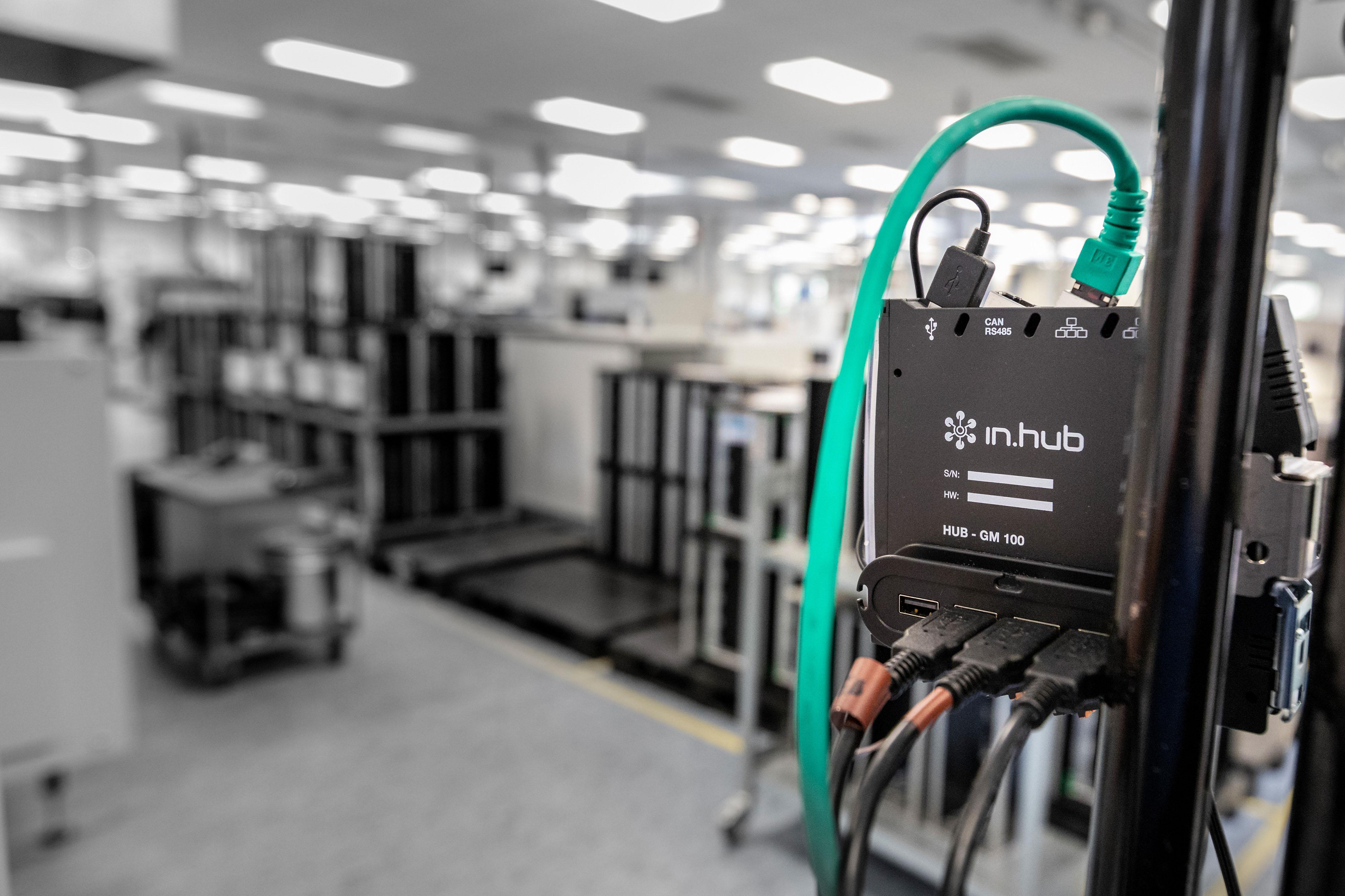 Das Gateway ist auch beim Vertriebspartner Conrad Electronic SE erhältlich. (Bild: In.hub GmbH)