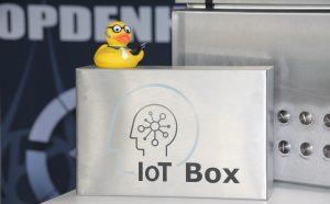 Mit der IoT-Box von Opdenhoff lässt sich die Prozessentwicklung Schritt für Schritt verbessern. (Bild: Opdenhoff Technologie GmbH)