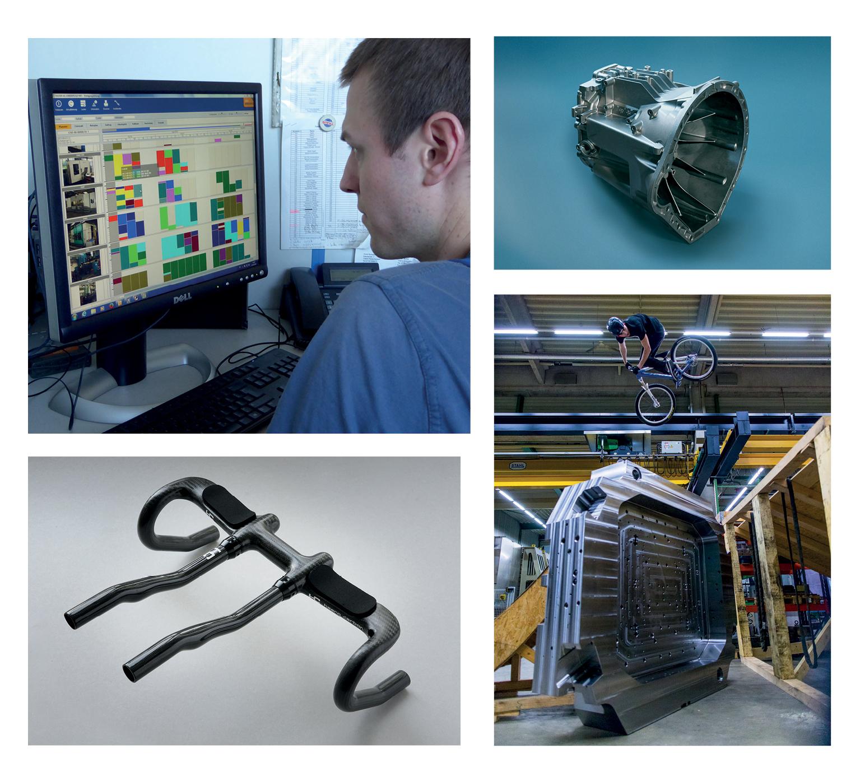 Die Alfred Härer GmbH fertigt Werkzeuge, Formen und Carbonteile. (Bild: Fauser AG/Härer GmbH)